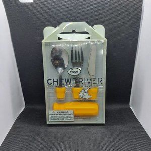 Fred & Friends - Chewdriver fork & Knife set